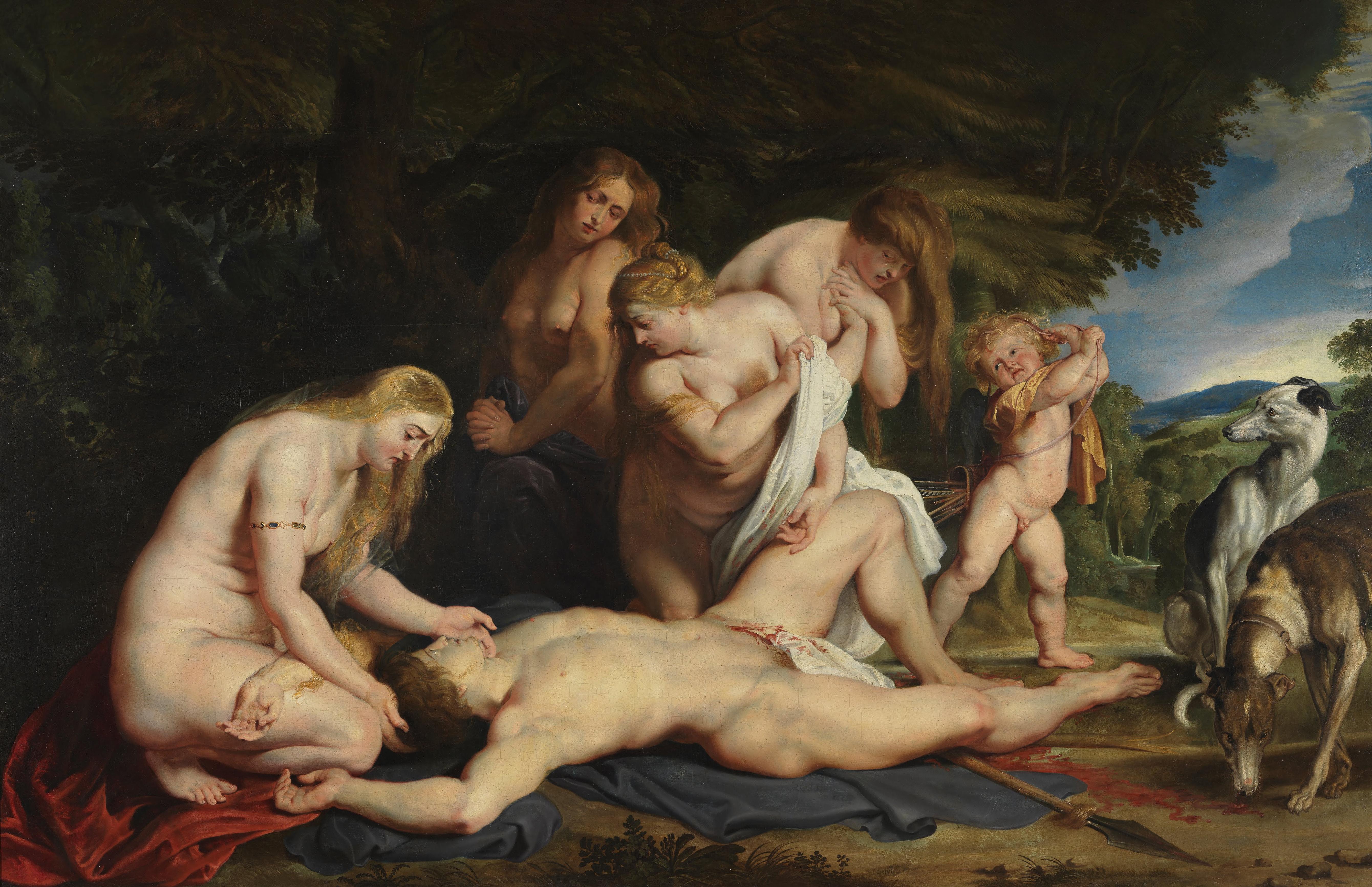 PeterPaul Rubens, Venus und Adonis (1614)