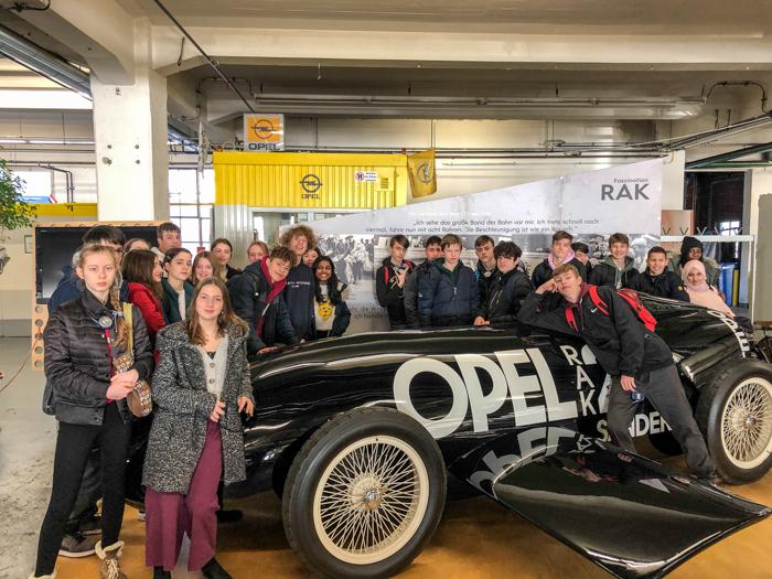 Besuch im Opelwerk