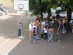 Liceo, Deutsch-italienische Pause