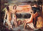 Paul Cézanne, Das Urteil des Paris (1862)